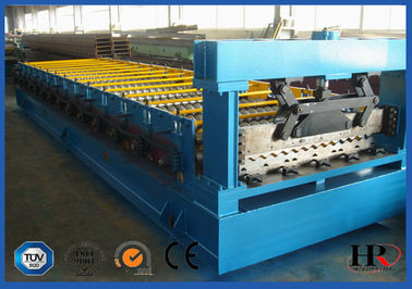 Tangki Air Tile Roll Forming Machine / Metal Roll Forming Systems